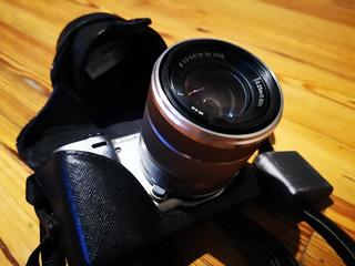 Camara Sony Nex 5r Como Nueva + Funda+tripode+control+sd