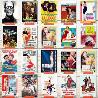Pôster Decorativo Memorabilia Filme Antigo 91x61