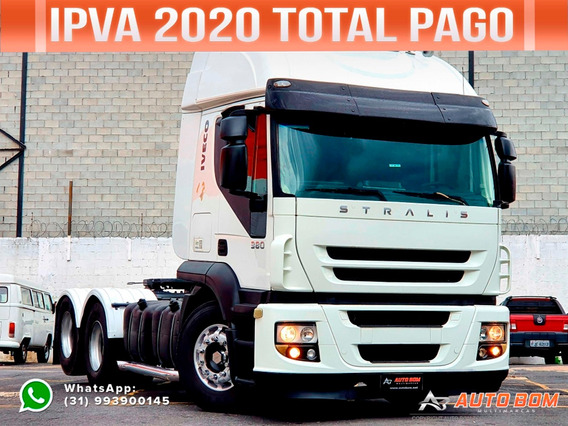 Iveco Stralis 380 Hd 6x2 2008 Ipva 2020 Pago Ñ É Scania