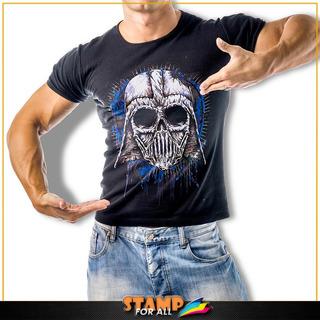 Camiseta Caveira Darth Vader Personalizada Stamp For All