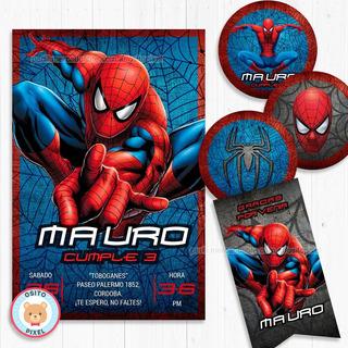 Invitaciones Spiderman En Mercado Libre Argentina