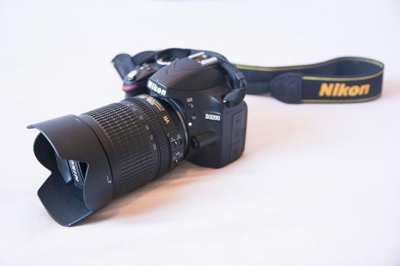 Câmera Nikon D3200 + Lente 18-105mm