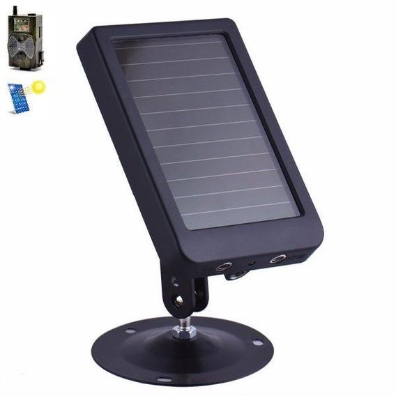 Painel Solar Câmera Trilha Suntek Entrada 5-9v / Saída 6v
