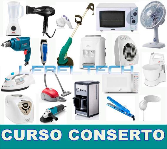 Curso 9 Dvds Conserto De Eletrodomésticos Em Vídeo Aulas