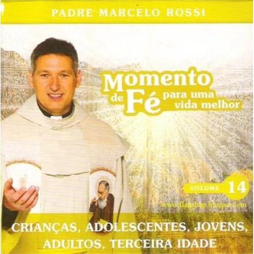 Imagem 1 de 5 de Cd Padre Marcelo Rossi Momento De Fe Volume 14 Novo Lacrado