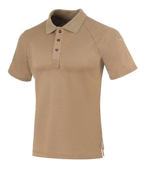 Camisa Invictus - Polo Control - Caqui Mojave