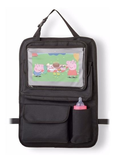 Suporte Bolsa Organizador Porta Objetos Carro Tablets iPad