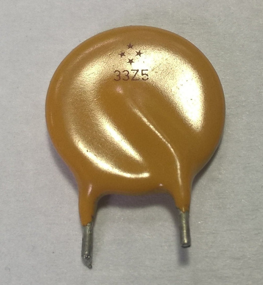 Varistor 33z5 (lote X 2 Unidades)