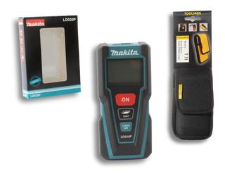 Medidor Laser Makita Ld030p Hast 30m + Funda Toolmen T71