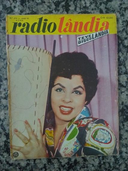 Revista Radiolândia N° 274 - 1959 Angela Maria