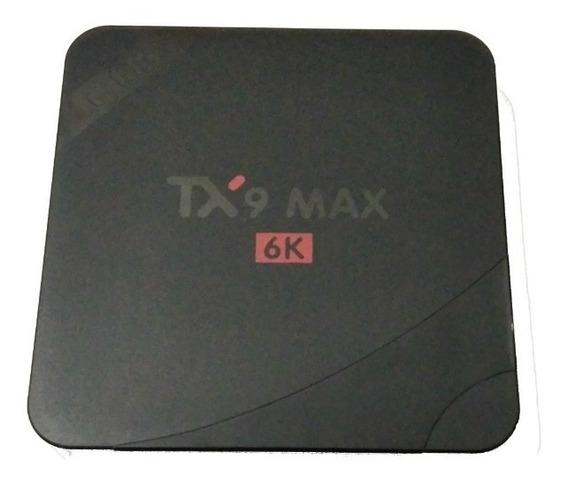 Conversor Smart Tv Tx9 Max 4gb Ram Ddr3- 64gb Rom