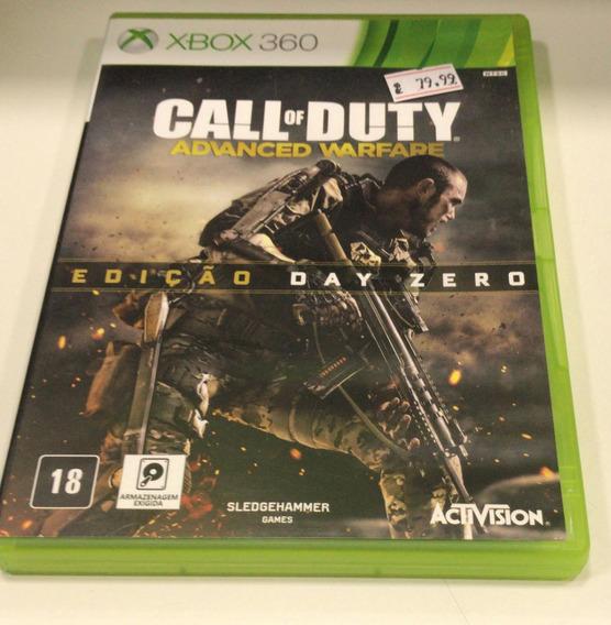 Cod Advanced Warfare - Xbox 360 Usado