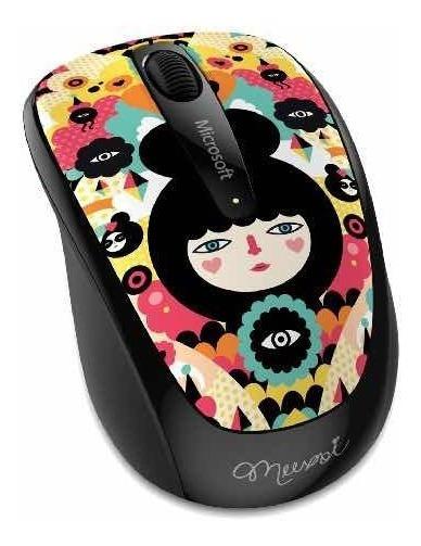 Mouse Raton Inalambrico Microsoft Wireless 3500 Muxxi