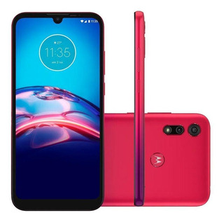 Smartphone Motorola Moto E6s 32gb 13mp Tela 6,1 Magenta