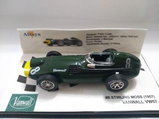 Vanwall Vw57 #8 Stirling Moss F1 Senna