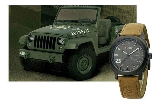 Relógio De Pulso Militar Exército Criança Adolescente R576