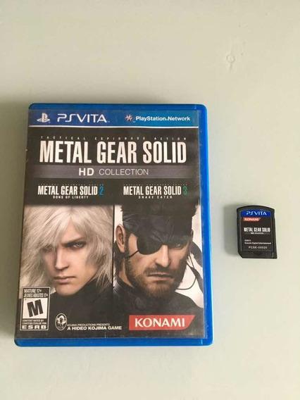 Metal Gear Solid Hd Collection Para Ps Vita