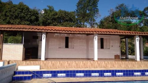 Chácara À Venda, 48.400 M² Por R$ 795.000 - Aralú - Santa Isabel/sp - Ch0022