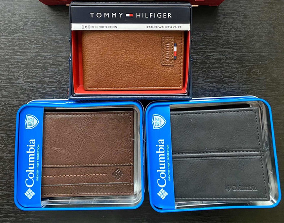 Billeteras Hombre Columbia Tommy Original Billetera