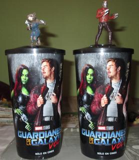 Guardianes De La Galaxia Vol.2 Lote De 2 Vasos Cinemex
