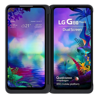 Smartphone LG G8x 128gb Preto 4g Octa-core - Dual Screen
