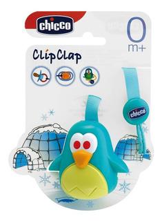 Protege Chupete - Pinguino - Pato - Chicco
