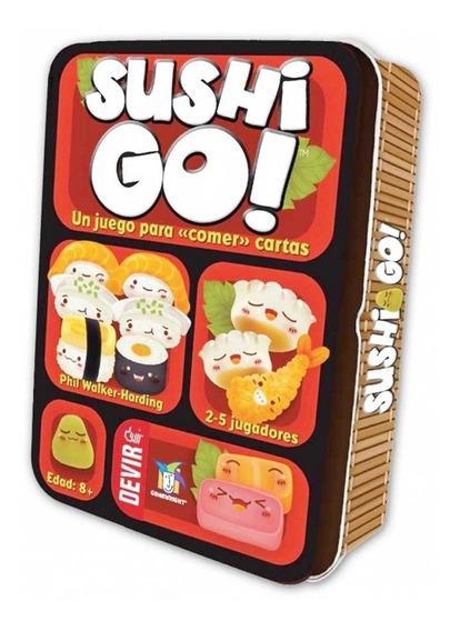 Lata Sushi Go! Jogo De Tabuleiro Cartas Português Lacrado