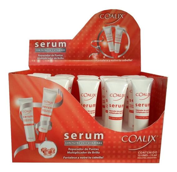 Serum Reparador De Puntas X 15ml Caja X 15uds - Coalix