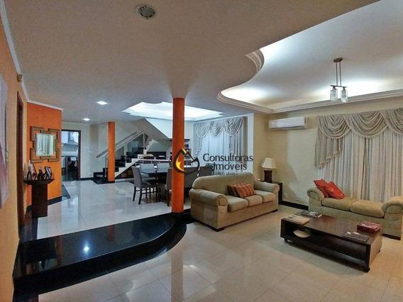 Casa Com 4 Dormitórios À Venda, 455 M² Por R$ 1.250.000 - Jardim Europa - Paulínia/sp - Ca1009