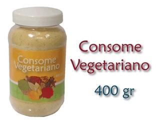 Consome Vegetariano 400 Grs Vegano , Vegetal , Kesane