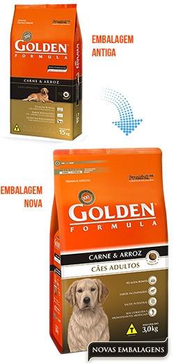 Golden Formula Cães Adultos Carne & Arroz 15kg