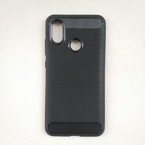 Imagen 1 de 1 de Funda Xiaomi Mi 8, Mi 8 Lite Y Mi 8 Pro Diseño Fibra Carbono