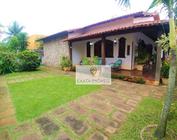 Casa Linear 04 Quartos, Próximo A Praia Da Baleia/costazul - Rio Das Ostras - Ca1147