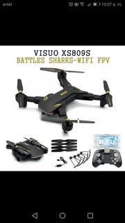Drone Visuo Xs809s Battles Shark - 20mn. De Vuelo