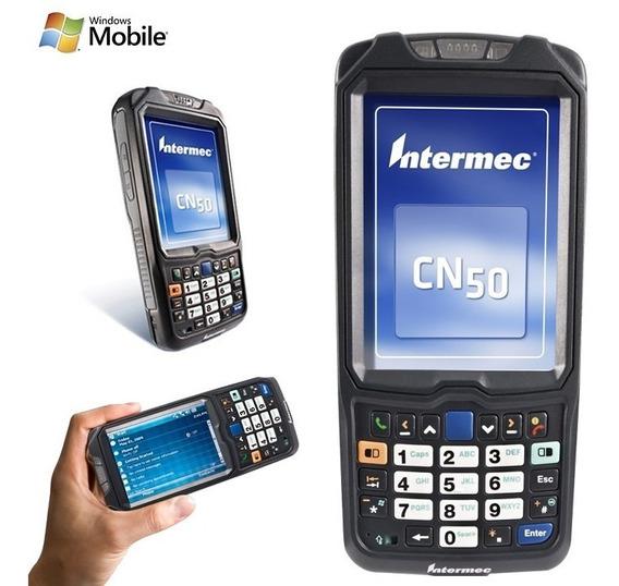 Coletor De Dados Intermec Cn50 Laser Wifi Bluetooth - 2d/1d