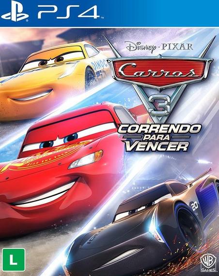 Carros 3 Correndo Para Vencer Ps4 Pt-br