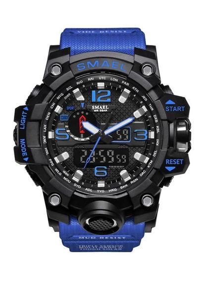 Relógio Smael Esportivo 1545 Azul Prova D