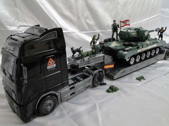 Novo Comando Blindado Caminhão Tanque Guerra Tatico Exercito