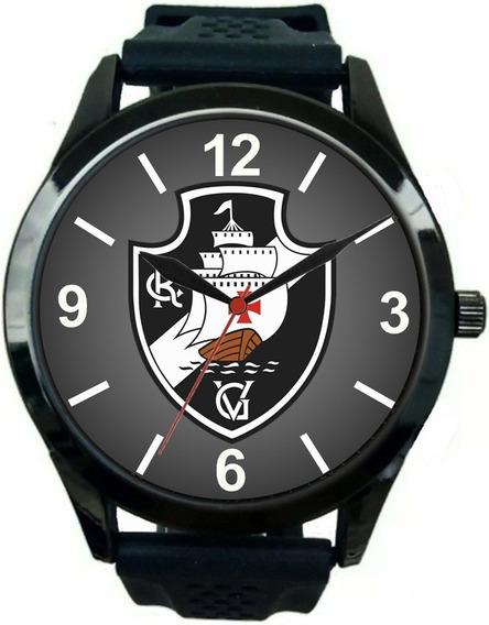 Relógio Pulso Esportivo Vasco Da Gama Barato Masculino