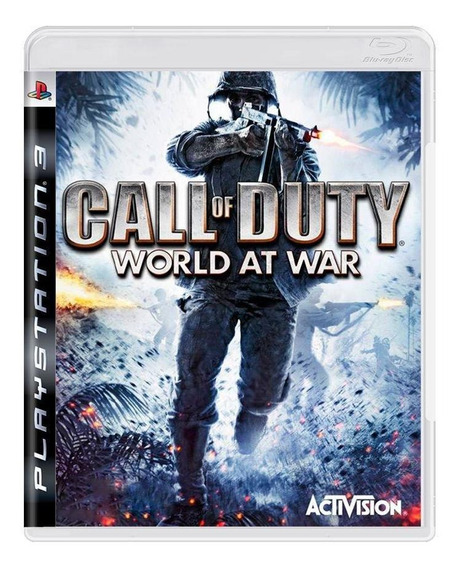 Call Of Duty World At War Ps3 Mídia Física Pronta Entrega