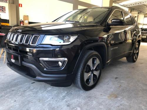 Jeep Compass Longitude 2.0 Flex - Ano 2017 - Completo