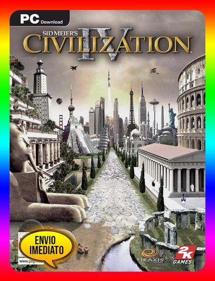 Civilization Iv 4 Pc - Steam Key (envio Já)