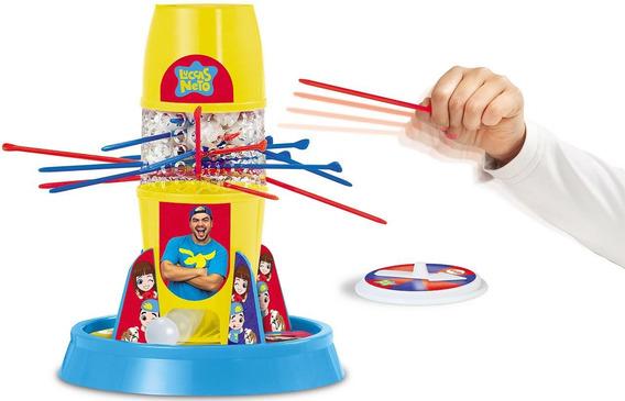 Luccas Neto Jogo Tira Varetas Brinquedo Infantil Menino Elka