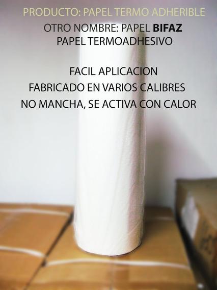 Termo Adherible, Bifaz Termoadhesivo Calibre .10/10mts