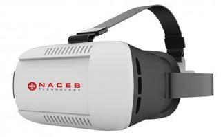Lentes De Realidad Virtual Naceb Technology Na-624 - Negro,