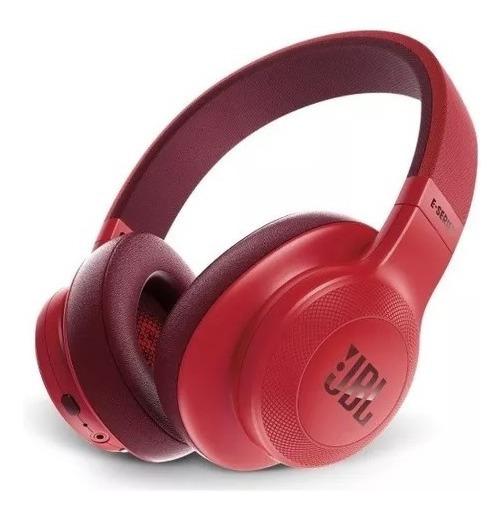 Fone De Ouvido Jbl E55bt Bluetooth Vermelho