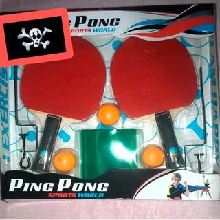 Juego De Paletas Y Pelotas De Ping Pong Jem