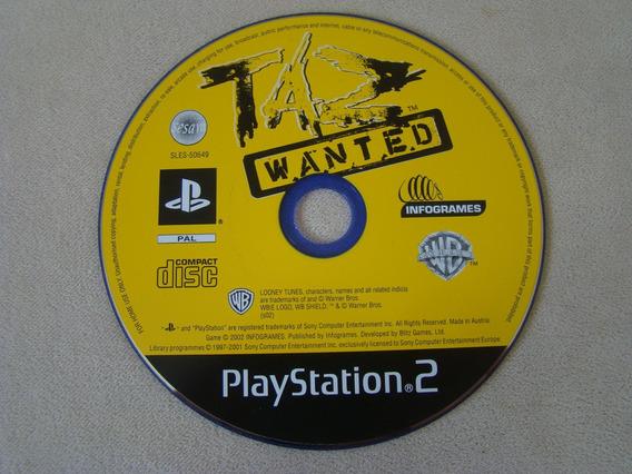 Taz Wanted - Pal - Playstation 2 / Ps2
