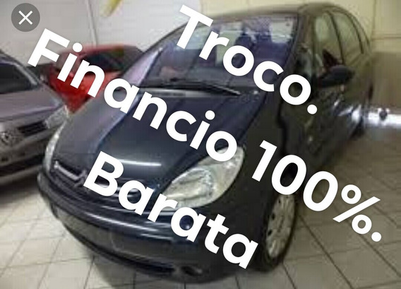 Citroën Picasso 2.0 Completa Cinza 2004/revisada Nova Top !!