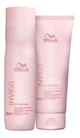 Wella Invigo Kit Blonde Recharge Shampoo E Condicinador
